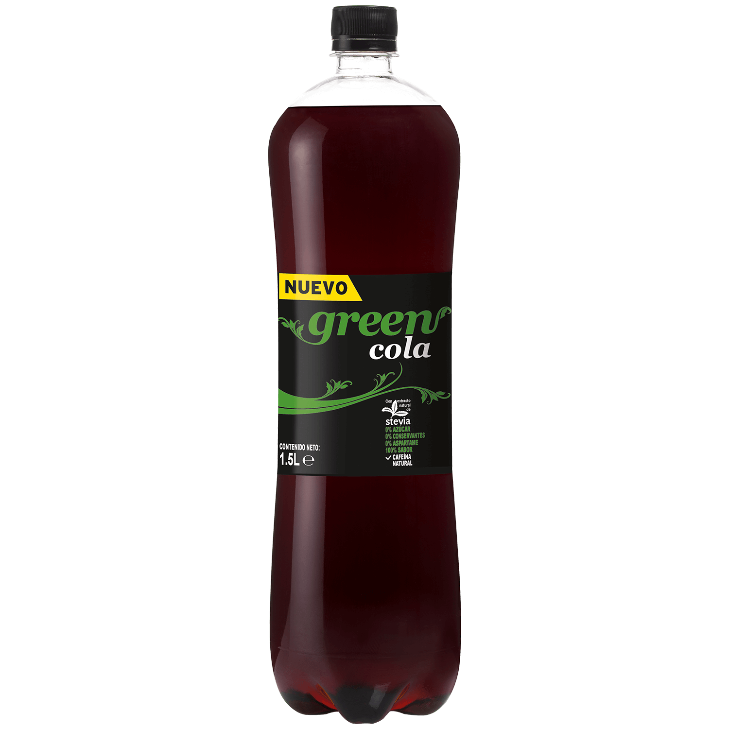 Green Cola - Botella - 1.5lt