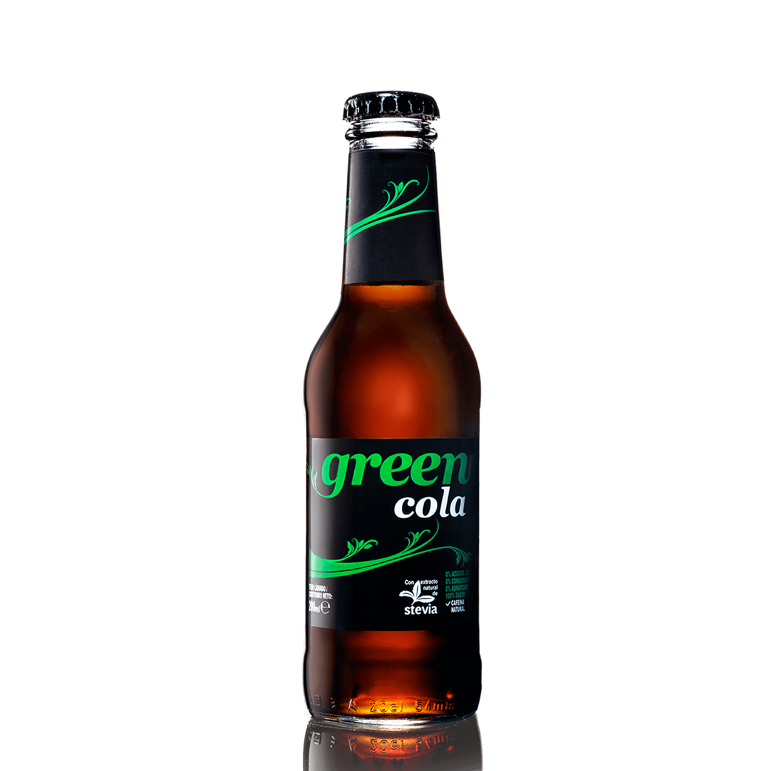 Green Cola - Vidrio - 200ml